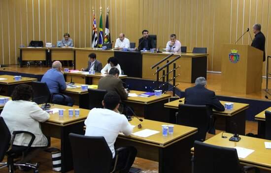 A sessão da Câmara Municipal foi realizada na terça-feira, 11 de junho
