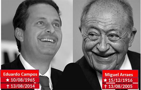 Homenagem da Fundação João Mangabera a Eduardo Campos e Miguel Arraes