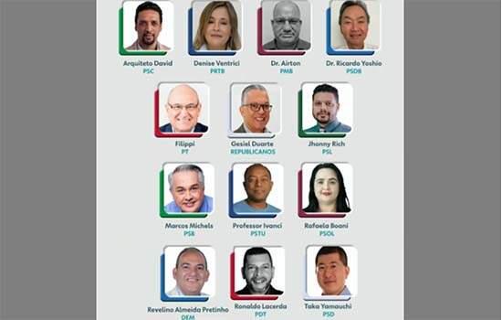 Os 13 candidatos à Prefeitura de Diadema