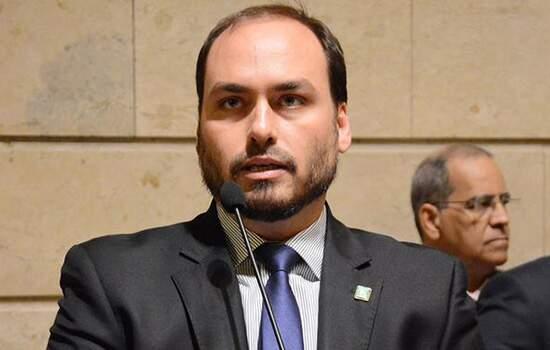O filho do presidente, Carlos Bolsonaro é investigado pelo MP do Rio