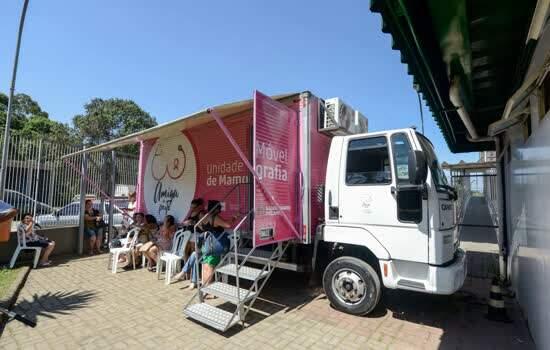 Em um mês, Unidade Móvel de Mamografia de São Bernardo realiza 1.319 exames