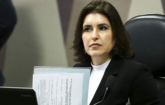 Simone Tebet, presidente da Comissão de Constituição e Justiça (CCJ)