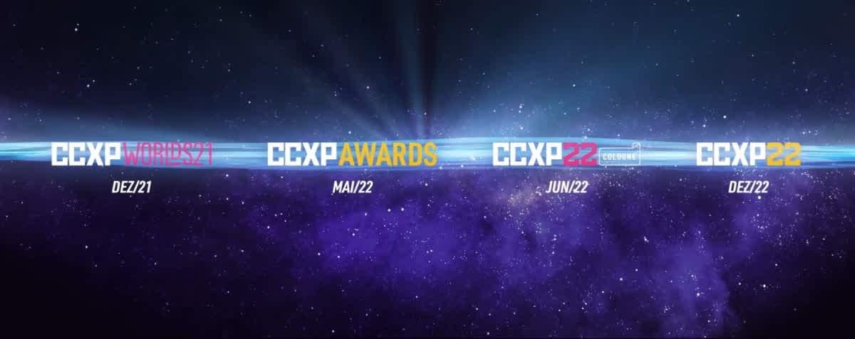 CCXP anuncia edição virtual e multiverso com eventos que seguem até o fim de 2022, terminando no maior festival de todos os tempos