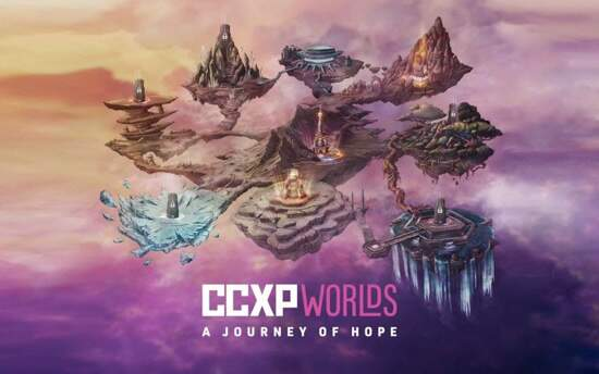 CCXP Worlds: A Journey of Hope abre venda de ingressos e inscrições para o Artists' Valley