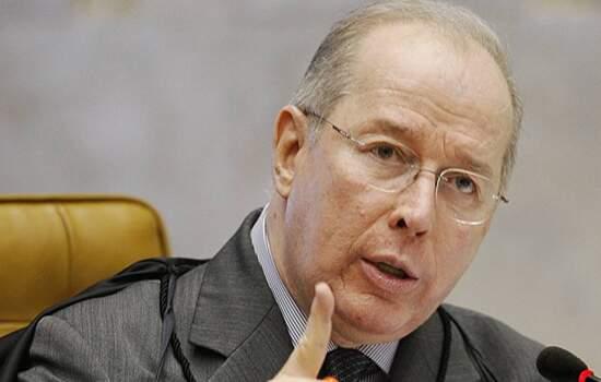 O ministro decano Celso de Mello, do Supremo Tribunal Federal