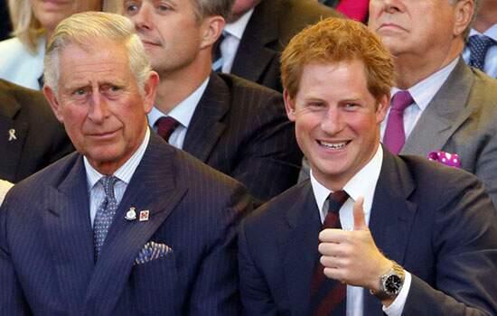 O dinheiro que Charles dará a Harry, virá de sua fortuna pessoal, não dos impostos que recebe como duque da Cornualha