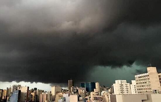 Chuva forte coloca São Paulo em estado de atenção