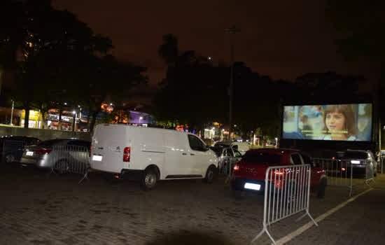 Cine Drive-In - Praça da Moça, Centro de Diadema