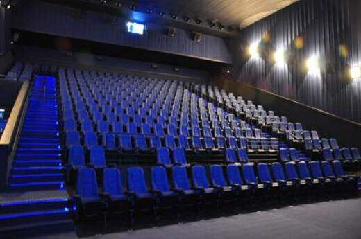 Serão oito salas de cinema que vão acomodar mais de 1.500 poltronas