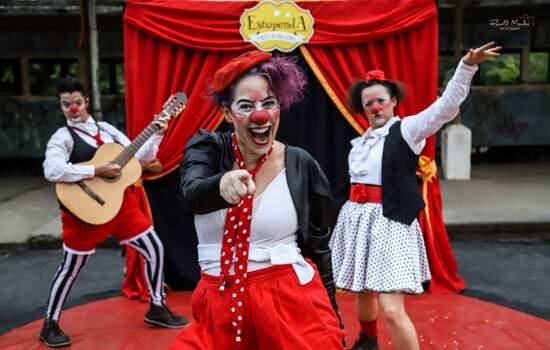 Circo di SóLadies realiza aula de palhaçaria propondo que mulheres se fortaleçam em período de isolamento