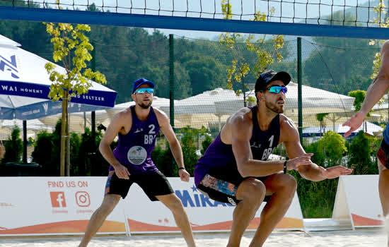 Maia e Vinicius Cardozo foram para a repescagem na Bulgária