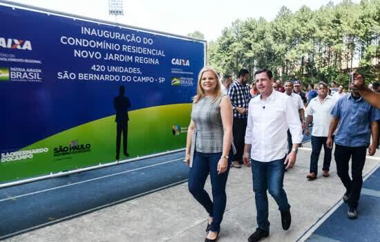 Prefeito Orlando Morando realiza sonho de 420 famílias com entrega de unidades habitacionais no Jardim Regina