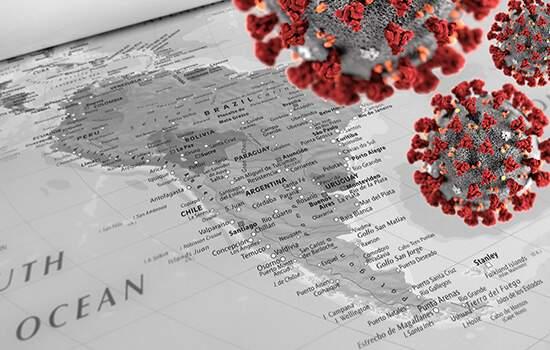 O continente já soma 554.321 casos de covid-19 e 28.168 mortes causadas pela doença