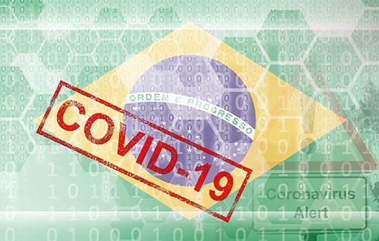O País é o terceiro mais afetado pela covid-19 quando são levados em conta os números de casos