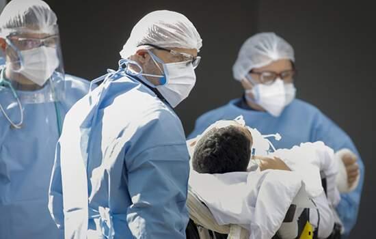 Média nmóvel diária de mortes teve queda pelo quarto dia consecutivo