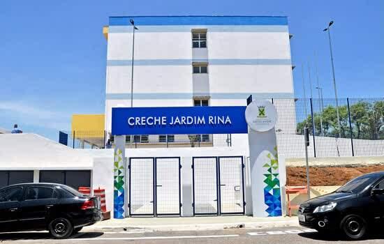 Prefeitura de Santo André inaugura creche no Jardim Rina