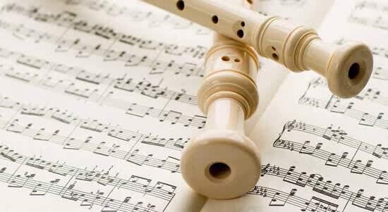 Flauta doce será instrumento base para curso que terá duração de cinco meses