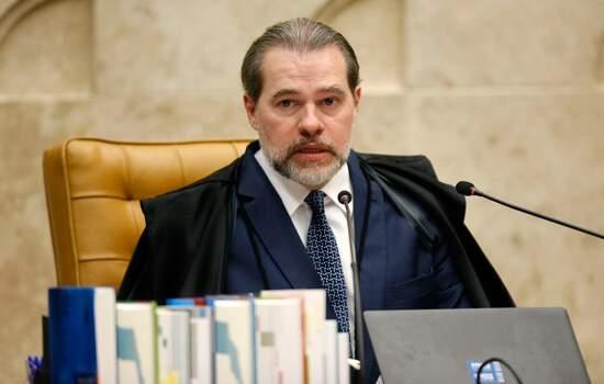 Presidente do Supremo Tribunal Federal (STF), ministro Dias Toffoli