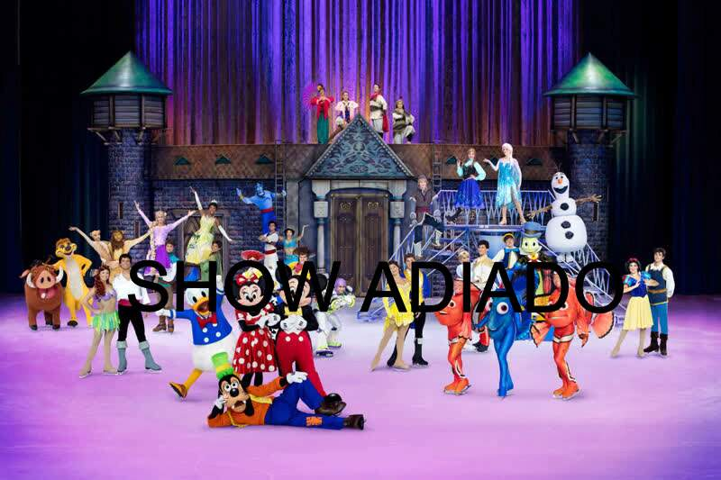 Disney On Ice – 100 Anos de Magia/ Crédito: Disney / Feld Entertainment