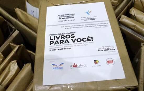 Kits com 400 obras foram doados em Santo André