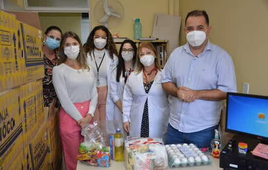 Vistoria doações alimentos UBS Jd Mauá