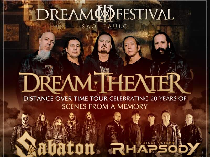 Dream Festival - Dream Theater, Sabaton e...
