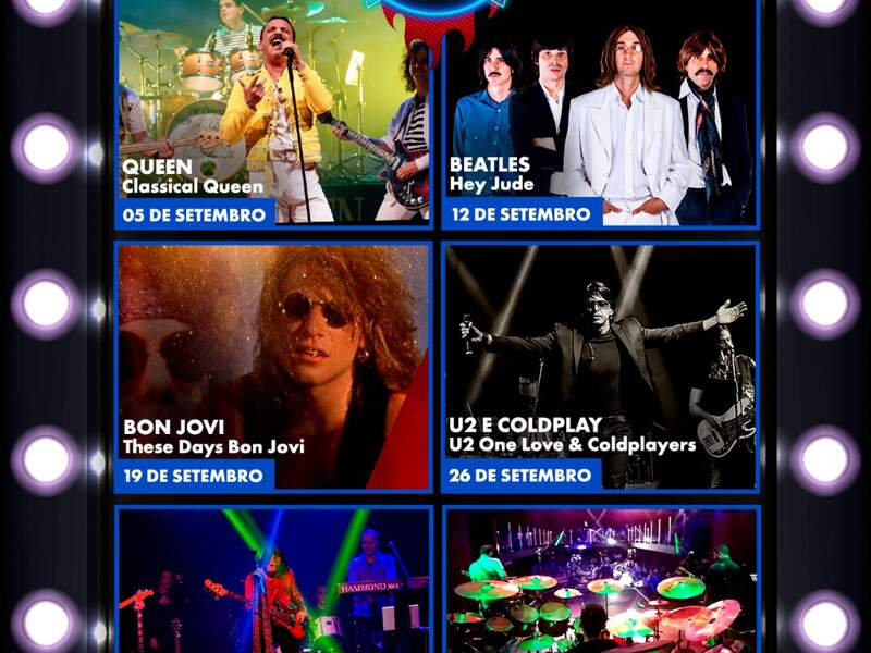 Drive-in das Américas apresenta Classic Rock