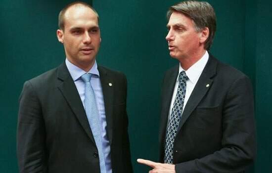 Eduardo Bolsonaro foi indicado pelo pai, Jair Bolsonaro, para a embaixada nos EUA
