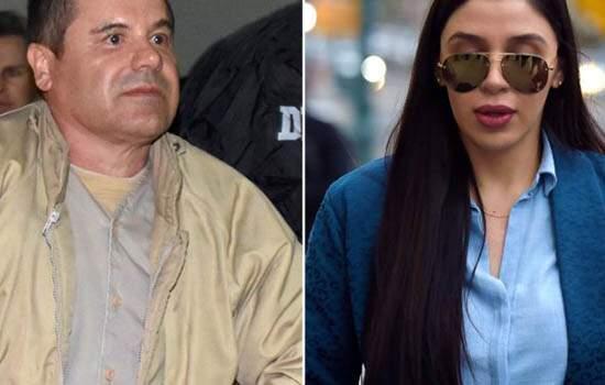Mulher do narcotraficante El Chapo, é presa acusada de participar de uma conspiração para distribuir cocaína, metanfetamina, heroína e maconha nos EUA
