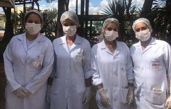 Estudantes do curso técnico de Enfermagem da Etec São R