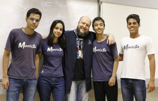 Estudantes do Colégio Marista Ribeirão Preto