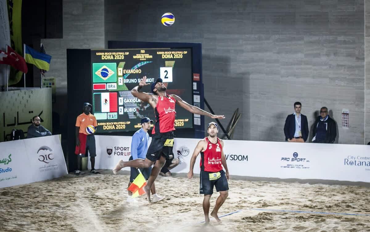 Dupla brasileira irá disputar o bronze na etapa quatro estrelas do Qatar