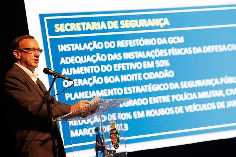 José Quesada Farina discorreu sobre Segurança