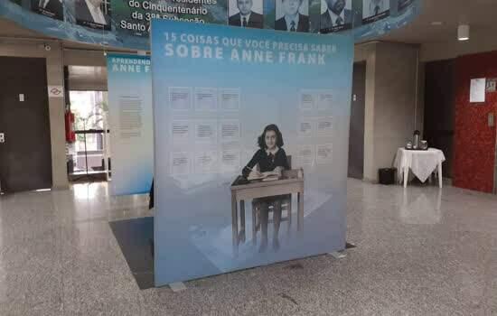 Exposição Aprendendo com Anne Frank