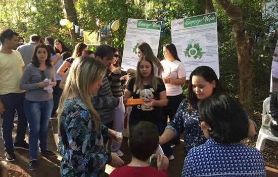 Etec de Ourinhos promoveu exposição de trabalhos ao ar livre e palestras sobre temas ligados à preservação ambiental