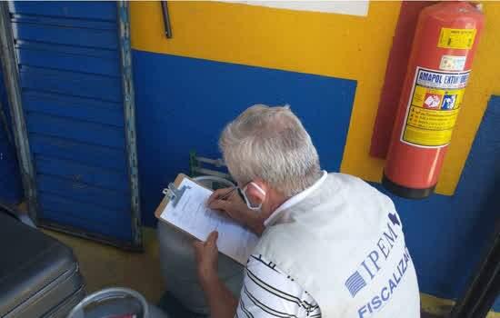 Ipem-SP fiscaliza botijões de gás de cozinha no Estado de SP