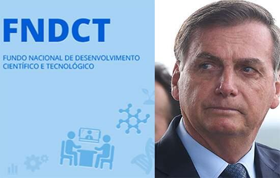 Bolsonaro veta recurso de fundo para financiamento à ciência, tecnologia e inovação no Brasil