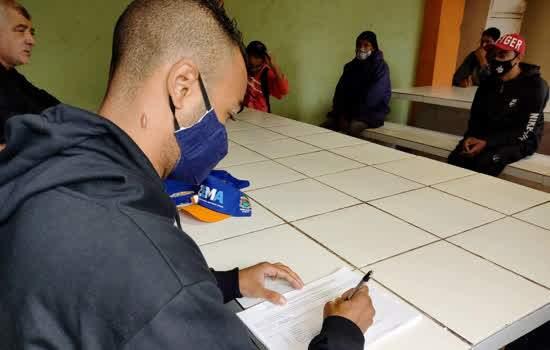 Ribeirão Pires recebe mais trabalhadores da Frente de trabalho