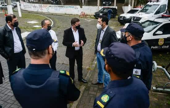 GCM de São Bernardo promove operação especial para coibir furtos de cabos de energia