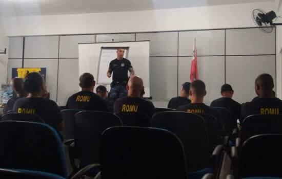 GCM de Ribeirão Pires realiza capacitação de efetivo de Suzano