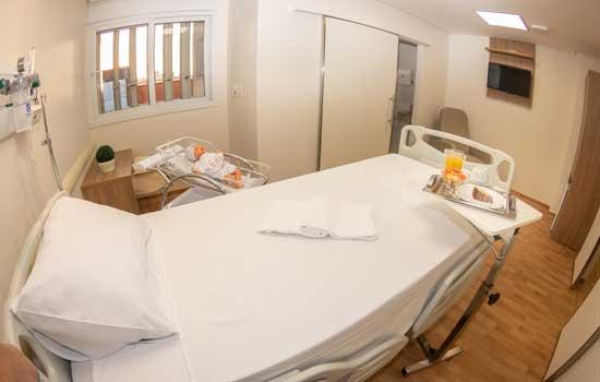 As novas alas de internação clínica e cirúrgica, contarão com 41 leitos