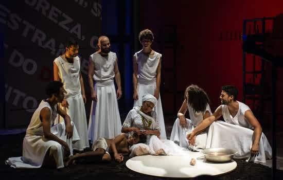 Itaú Cultural estreia temporadas do Palco Virtual para adultos  no YouTube com a peça (In)justiça, da Companhia de Teatro Heliópolis