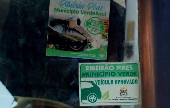 Ribeirão Pires realiza inspeção veicular na frota municipal