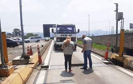 Em São Bernardo do Campo, Ipem-SP verifica balança dinâmica na Rodovia Anchieta (SP 150)