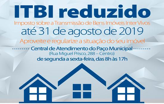 A medida tem por objetivo estimular a regularização de imóveis no município - Continue lendo