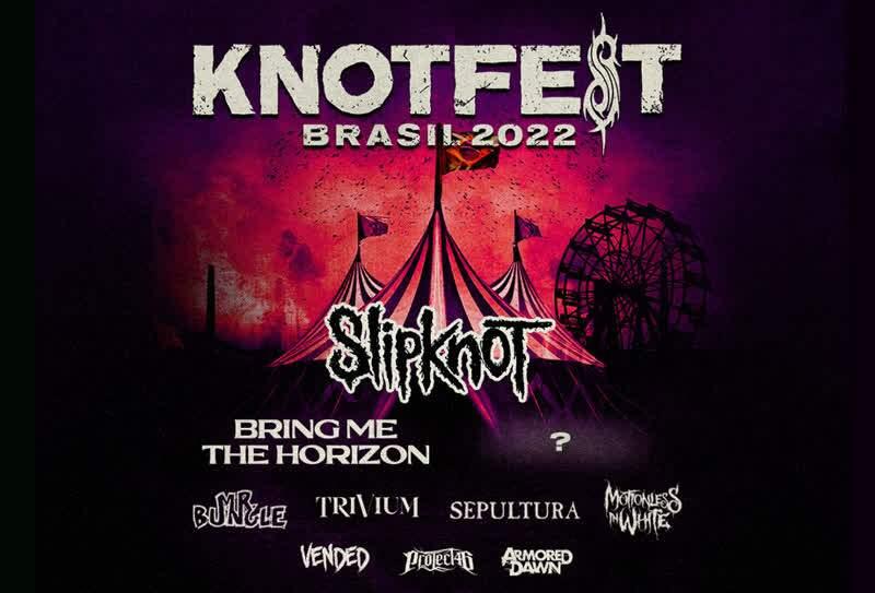 KNOTFEST Brasil/ Crédito: Divulgação