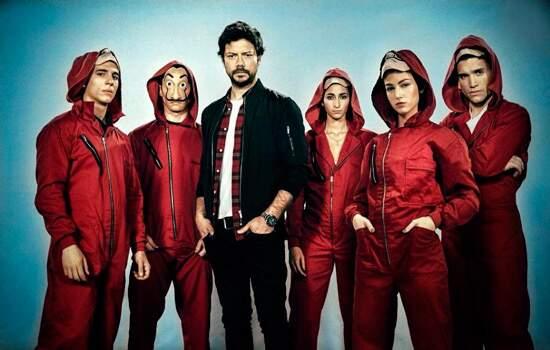 A série 'La Casa de Papel' estreou sua primeira temporada em 2017