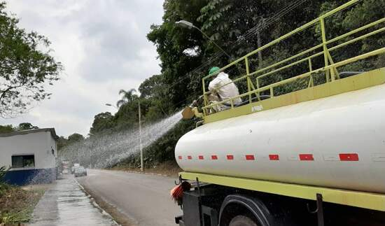 Limpeza Desinfetante - Bairros Ribeirão Pires