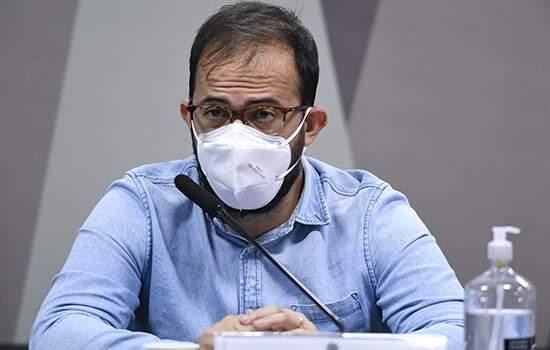 O servidor Luís Ricardo Miranda que denunciou irregularidades no contrato da Covaxin, depõe na PF