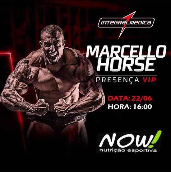 Com apenas 24 anos, Marcello Horse acumula dezenas de títulos e vem comemorar 2 anos da loja Now